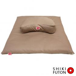 Housse de protection en toile de coton pour zabuton