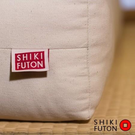 Futon avec latex de 15cm et coton biologique