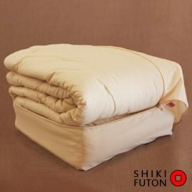 Couette en coton biologique emballée