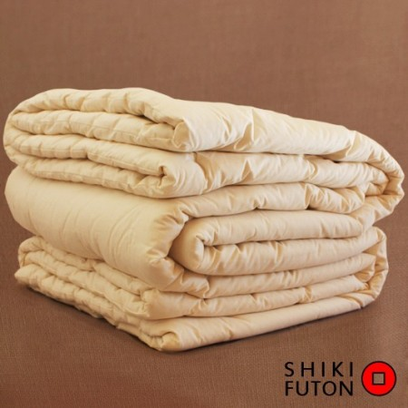 couette en soie shiki futon. Black Bedroom Furniture Sets. Home Design Ideas